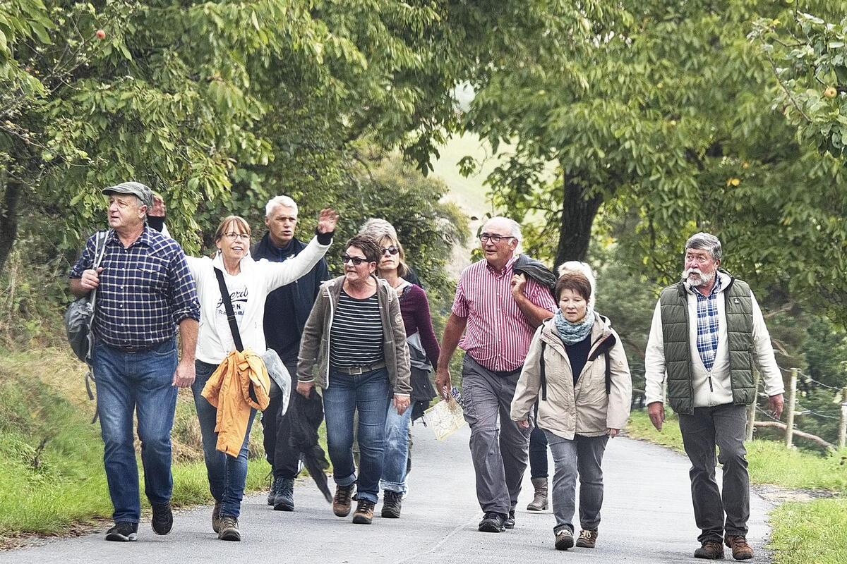 Pressebild zum Crumbacher Wandertag 2017